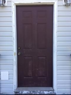 Door Before Construction